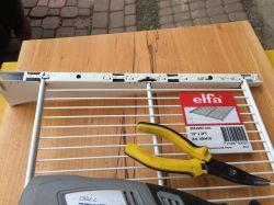 Regał warsztatowy. Jak pożenić system Ikea z Elfa.