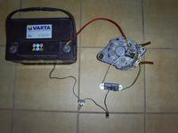 Brak ładowania akumulatora - wózek widłowy DV1792