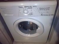 pozim wody w pralce MASTERCOOK PFE93