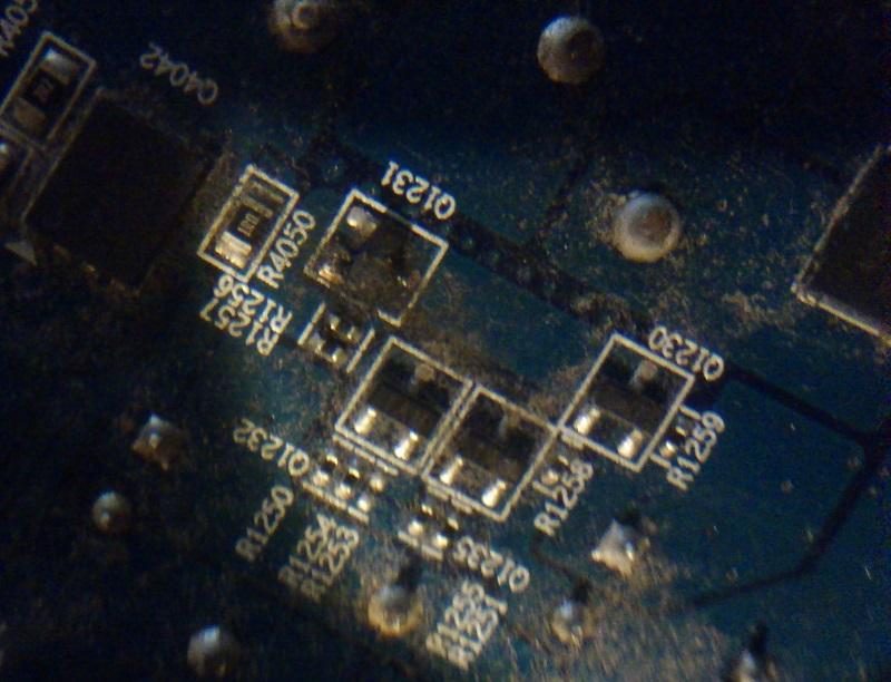 HD4850 - Uszkodzony tranzystor - identyfikacja i naprawa