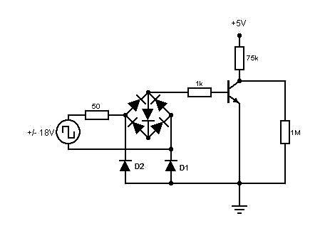 Detektor zajętości toru do H0 - jaki tranzystor ?