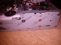 Alpine CHA S-614 - Blokująca się szuflada