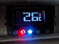 Półautomatyczny sterownik samochodowej klimatyzacji