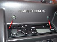 Nissan Micra 97r - wyświetlacz LCD brak treści