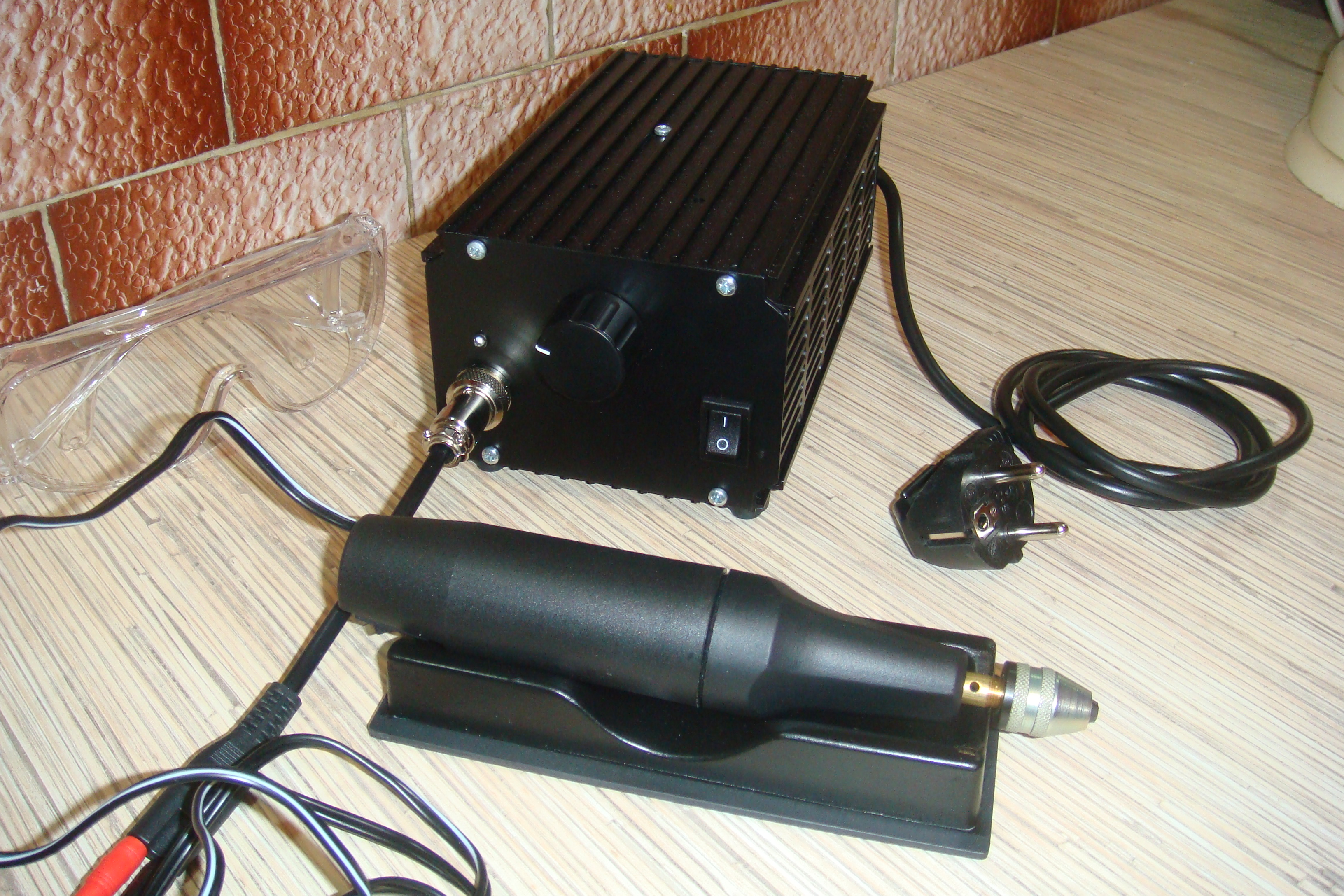 Dc Motor Speed Controller With Power Supply