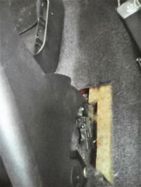Ford Escort 99 - Brak hamulca ręcznego