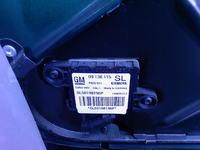 Błąd 81 poduszki bocznej pasażera, Vectra b 2.0 16 1998r