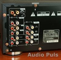podłączenie wzmacniacz + amplituner + korektor