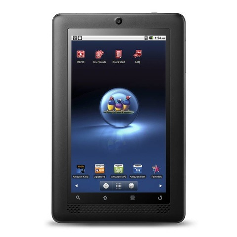 ViewSonic ViewBook 730 - 7-calowy tablet z Android 2.2