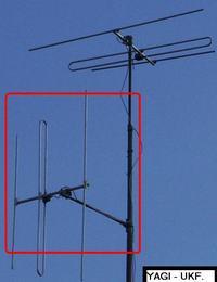 Antena radiowa stacjonarna instalacja