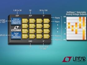LTC2668-16 - nowy 16-kana�owy przetwornik DAC z wydajno�ci� 10mA