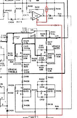 Amplituner Pioneer SX-227 - prawy kanał trzeszczy