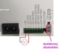Zasilacz buforowy CyberPower CS24U12V nie ładuje akumulatora