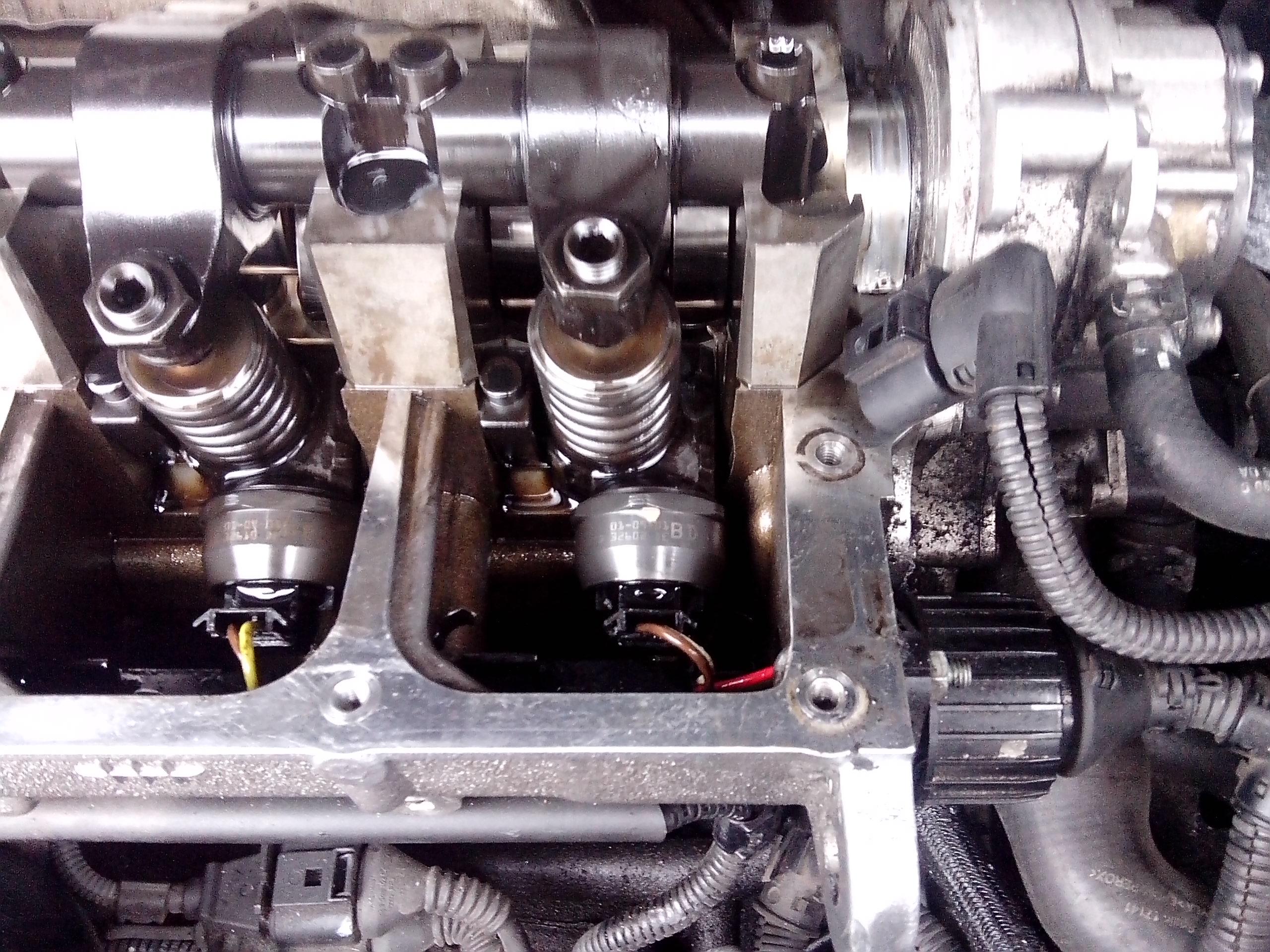 vw sharan TDI  - b�ad wypadanie zap�onu cylinder.4 i strasznie dymi.