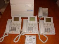 [Sprzedam] Centrala Panasonic KX-TD612 i trzy tel. systemowe KX-T7436 używana
