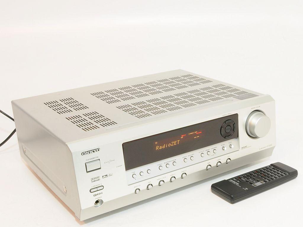 Kino domowe ONKYO HT-R330, po��czenie z TV.