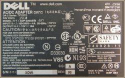 Dell model: ADP-220AB B - Wyłącza przy starcie LCD Panel PC.