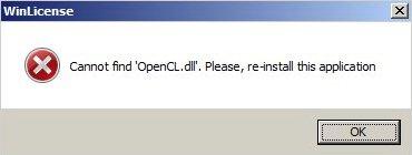 Problem z OpenCL.dll, touchpadem oraz spora ilo�� proces�w - logi