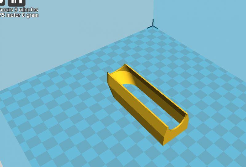 Pokażę jak ustawić Cura aby wypełniał model wyłącznie liniami obrysu.