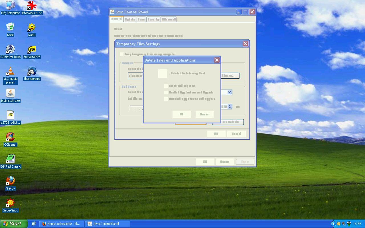 Java po aktualizacji rozmywa grafik� w okienkach