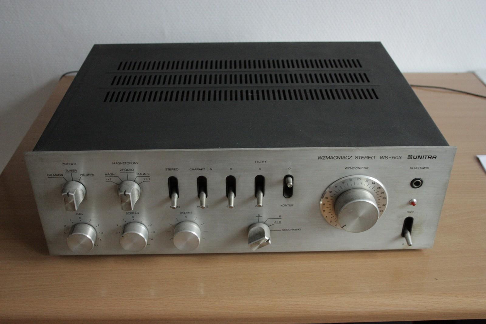 Nowe �ycie starego WS503 - regeneracja starego polskiego sprz�tu audio