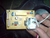Odkurzacz Russel Hobbs Model No.13944- płytka zasilająca