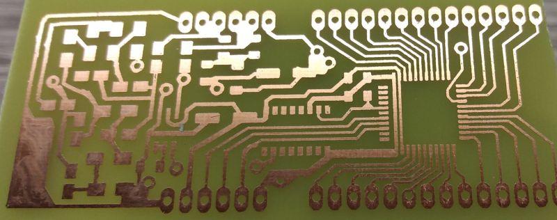 Wyświetlacze VFD to nic strasznego. Część 3. Własny sterownik i PCB