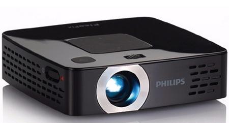 Philips PicoPix PPX2480 - projektor PMP Pico z wbudowanym odtwarzaczem MP4