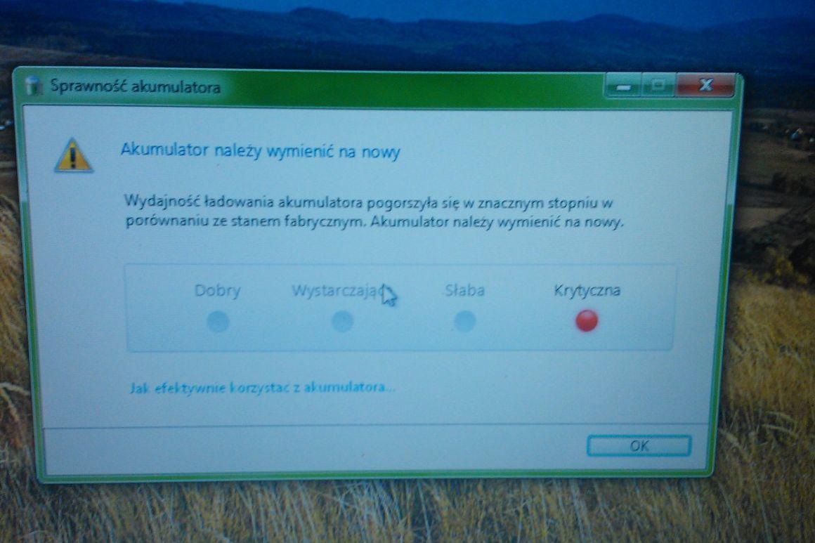 SONY PCG 71211M uszk. układ ładowania baterii. elektroda.pl