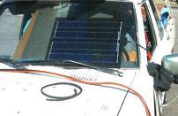 Słoneczna ładowarka akumulatora samochodowego