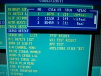 Samsung SP0802N SMART BAD, błędy UNC