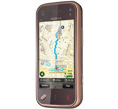Nokia udostępnia darmowe mapy dla telefonów z GPS.