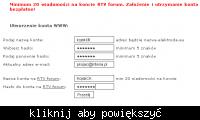 Jak założyć bezpłatne konto www na elektroda.eu
