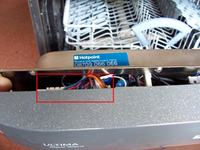 Zmywarka Hotpoint Ariston SDW 80 tylko wypompowuje wode
