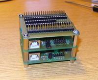 Programator PIC i AVR na USB + podstawka + kable sprzedam