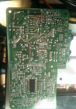 philips AZ1850 - schemat lub identyfikacja diody