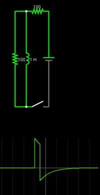 Mostek H, MOSFET, 24V 500W, Tłumienie przepięć z silników.