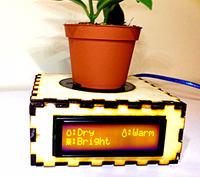 Podstawka do monitoringu roślin doniczkowych