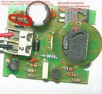 Fotokomórka Nice BF - dioda Zenera w układzie zasilania