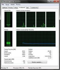 Acer 5740g - wolne kopiowaniem między partycjami / komputer laguje
