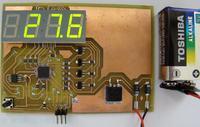 Termometr oparty na cyfrowym czujniku TMP275