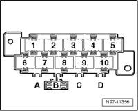 VW T5 - Dołożenie przycisku ryglowania/otwierania centralnego zamka