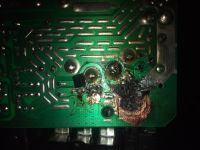 Wzmacniacz Peiying tranzystory - Podpalenie się tranzystorów