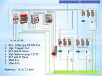Instalacja elektryczna - poprawnosc schematu??