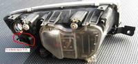 Skoda Fabia 1,4 16v 2007 rBKY - Podłączenie świateł LED do jazdy dziennej