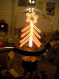 Świąteczne lampy jonowe, neonowe i nixie