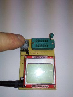 Tester elementów elektronicznych na Atmega328P i LCD Nokia 5110