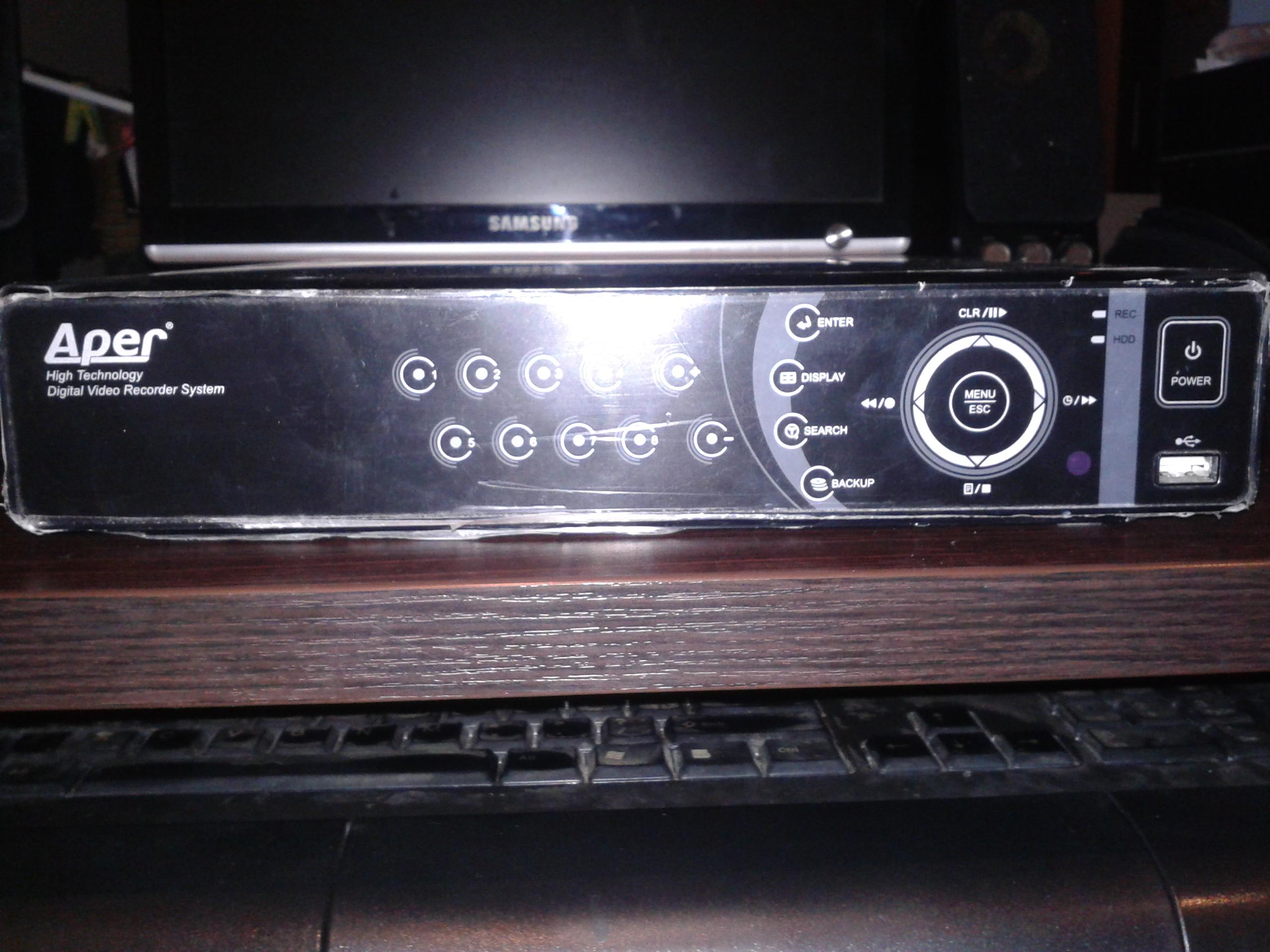 [Sprzedam] Cyfrowy rejestrator Aper PDR-XM3008