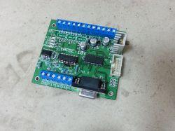 SCX3 Interfejs pętli otwartej STEP/DIR na zamkniętą pętlę prędkościową +/-10V