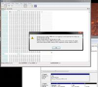 Hitachi HTS543232A7A384 320GB widziany jako 11GB